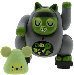 dead fat cat vinyl figure set