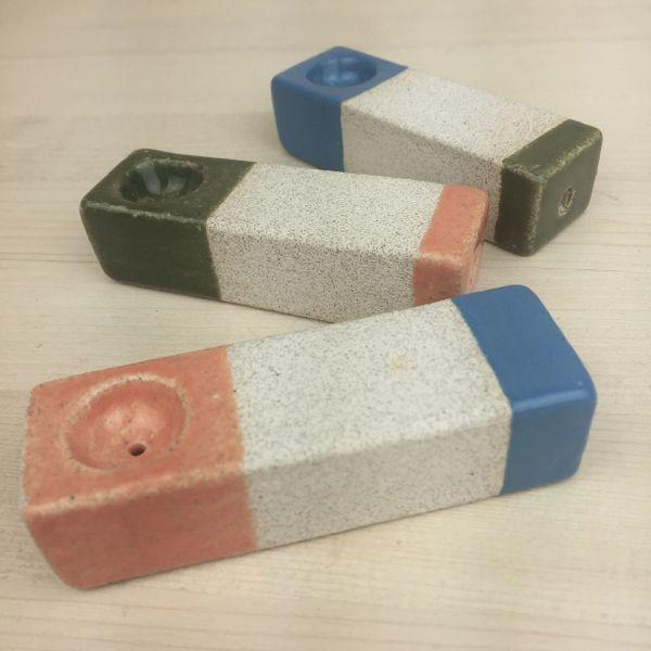 ceramic pipe set