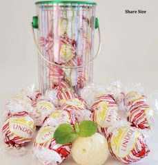 The Mint Shack Lindt Lindor Peppermint White Chocolate Truffle Candy Tins