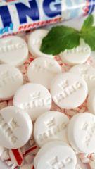 Kings Original Peppermint Pastilles De Menthe Candy- 16 Roll