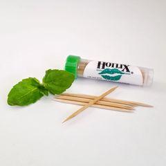 Refreshing HotLix Mint Toothpicks Pocket Tubes