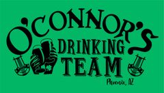 O'Connor's Drinking Team Shirts