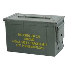 .50 Cal. Ammo Can