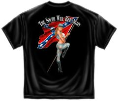 Rebel T-Shirt | South Will Rise Again