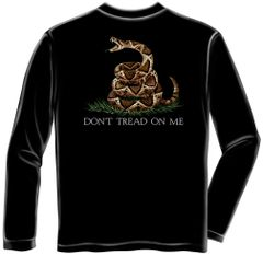 Long Sleeve Don't Tread on Me T-Shirt