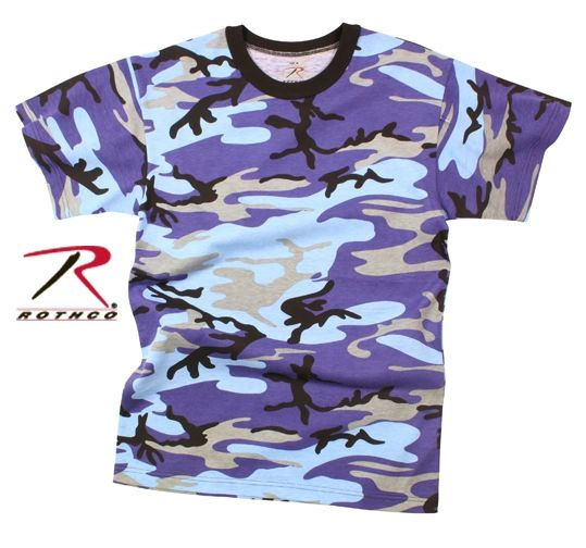 ce8b2dcf ELECTRIC BLUE CAMO T-SHIRT, TEE, TEES, TSHIRT, TSHIRTS, CAMOUFLAG |  Military Surplus and Tactical Gear CHARLOTTE, NC, FORT MILL, SC