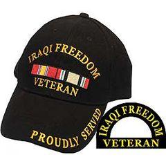 IRAQI FREEDOM VETERAN CAP