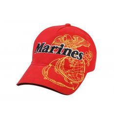 Deluxe Marines G&A Low Profile Insignia Cap
