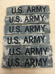 US ARMY ACU DIGITAL BRANCH TAPE VELCRO - LOT OF 6 - EUC