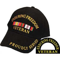 ENDURING FREEDOM VETERAN CAP