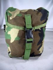 MOLLE II Sustainment Pouch | Woodland Camo | Used