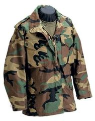 US MILITARY FIELD JACKET | WOODLAND | MED LONG