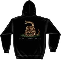 Hooded Sweatshirt Don't Tread On Me