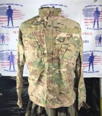 Army Combat FR Uniform Coat, Multicam (OCP) SMALL REGULAR 8415-01-579-9762 USED