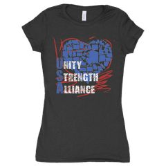 WOMEN'S COTTON TEE UNITY STRENGTH ALLIANCE