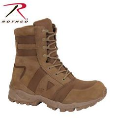 Rothco AR 670-1 Coyote Forced Entry Tactical Boots 5361