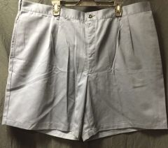Navy Blue Pleaded Men's Shorts 8405014771232 | Size 46