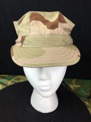 USMC UTLITY CAP   DESERT CAMO   NEW