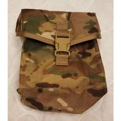 MOLLE 200-Round SAW Ammunition Pouch, RFI Issue, MultiCam, NSN 8465-01-580-2628