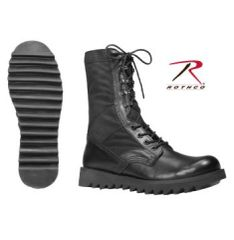 Rothco Black Ripple Sole Jungle Boots 5050