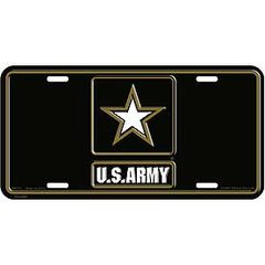 ARMY LOGO II LICENSE PLATE