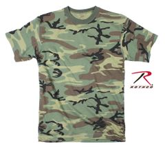 KID'S WOODLAND CAMO T-SHIRT