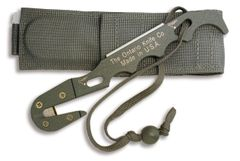 Ontario Rescue Hook/Multi Tool Deluxe PET™ #1 Foliage Green with Sheath - 1406 Used