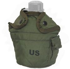 Olive Drab Canteen Cover - 1QT | USED