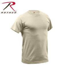 Quick Dry Moisture Wicking T-shirt | Desert Tan | 9570