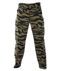 BDU Camo Pants Propper Genuine Gear Zipper Fly 60/40 Ripstop Tiger Stripe