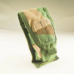 MOLLE II Two Magazine Pouch | Woodland | Used