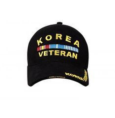 Deluxe Korea Veteran Low Profile Insignia Cap