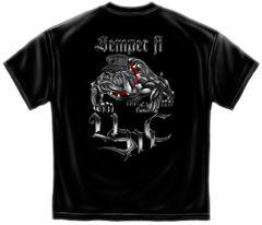 Sempri Fi Chrome Dog Marine Corps T-Shirt