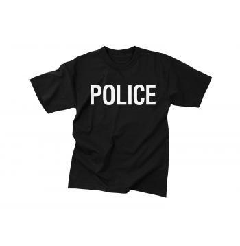 25eaf4da82d4 Police T-Shirt - Double Sided Print
