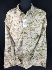 NEW USMC Marine Corps Desert Marpat MCCUU Medium - Reg Coat Shirt Top Combat BDU