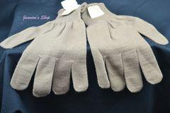 Coyote Brown Wool Gloves | New