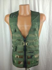 NEW MOLLE II Fighting Load Carrier Vest | Woodland Camo