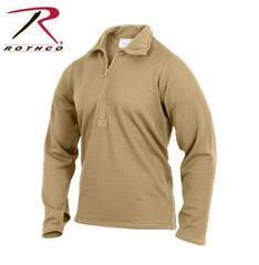 Gen III Level II Underwear Top   69040   AR 670-1 Coyote Brown