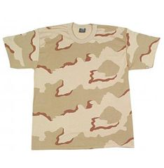 KIDS TRI-COLOR DESERT CAMO T-SHIRT
