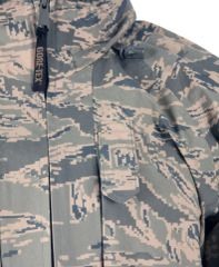 Gore-tex Parka, APEC, ABU Air Force Tiger Stripe, XL Reg 8415-01-547-3557