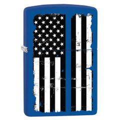 Zippo Lighter POLICE / THIN BLUE LINE | 86-05482