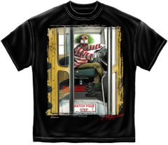 EVIL CLOWN SCHOOL BUS T-SHIRT | RN2316