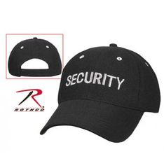Rothco Security Low Profile Insignia Mesh Cap | 9275