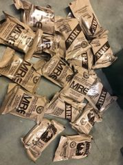 NEW MRE One Meal Pack - 2018 Inspection Date - US MILITARY Meals Ready to Eat