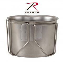 Rothco GI Style Stainless Steel Canteen Cup