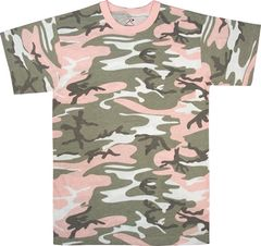 SUBDUED PINK CAMO T-SHIRT