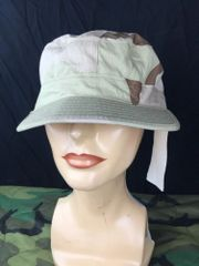 US MILITARY ARMY BDU DCU CAP HAT DESERT CAMOUFLAGE