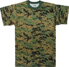 WOODLAND MARPAT DIGITAL CAMO T-SHIRT