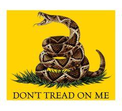 Don't Tread on Me Fleece Blanket | MM103-TB