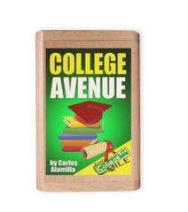 COLLEGE AVENUE BOOK USB FORMAT IN A WOODEN BOX